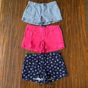 Polo Ralph Lauren Girls Size 5 Shorts Bundle
